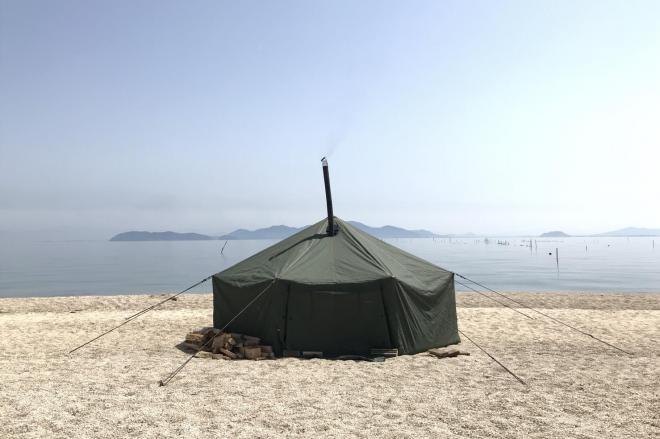 テントサウナも自然を楽しむ方法の一つ(写真=タナカカツキさん提供)