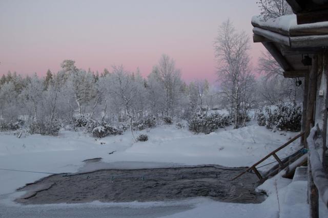 フィンランドのサウナ(写真=タナカカツキさん提供)