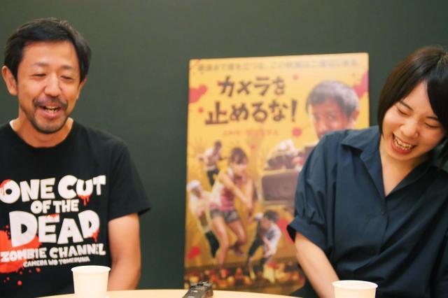 役柄との共通点を語る真魚さん(右)と濱津さん(左)