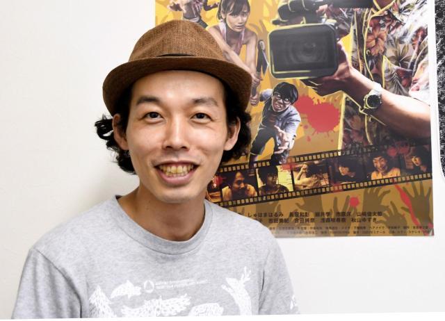 メガホンを取った上田慎一郎監督。長編映画は今作が初めて=合田純奈撮影