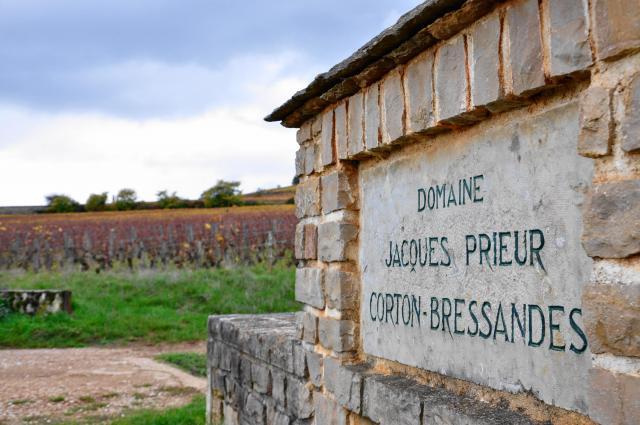 畑の名前や所有者を示す石造りの看板があちこちに