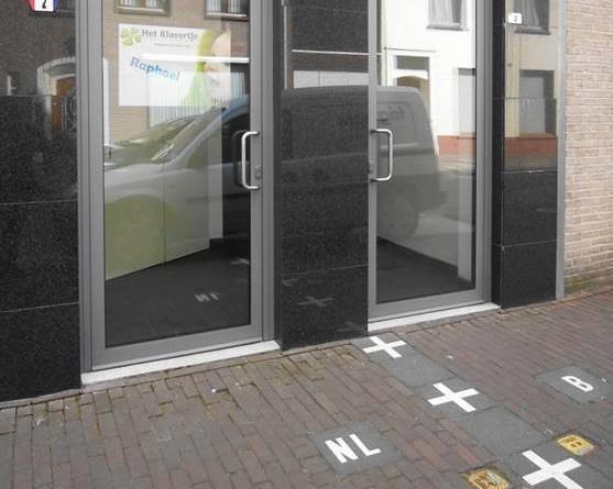 こちらは左がオランダ、右がベルギー