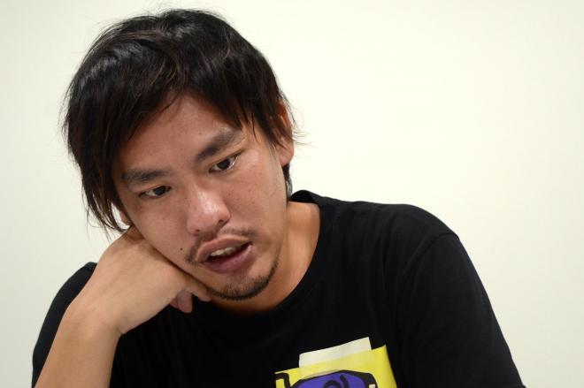 幻冬舎の編集者・箕輪厚介さん=篠健一郎撮影