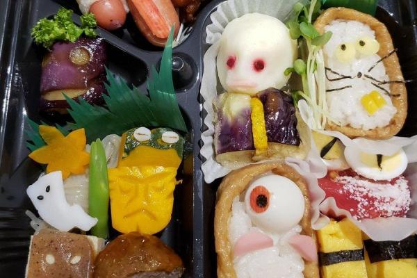 岩手県金ケ崎町で開催された妖怪会議で提供された「妖怪弁当」