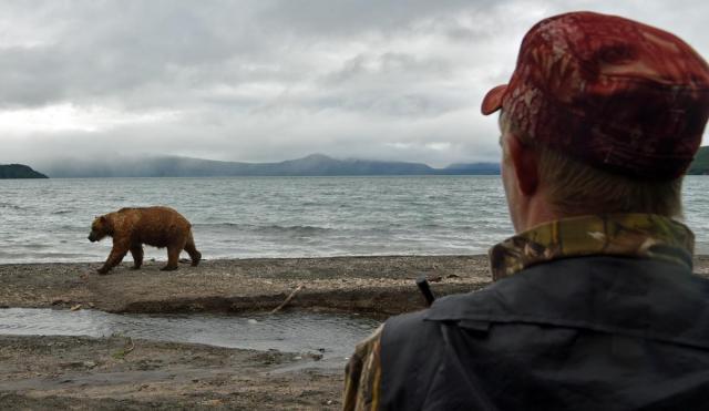 クマが近い
