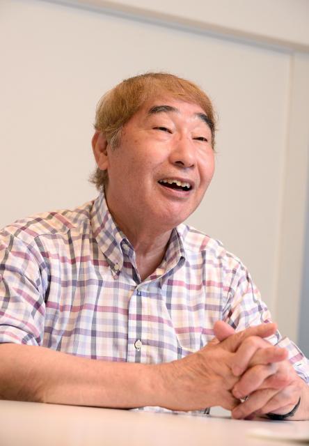 蛭子能収さん=2018年8月、東京都渋谷区、篠塚ようこ撮影