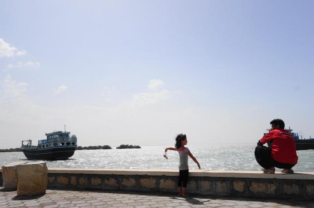 外国人はおろか、イラン人観光客もあまりいないので、のんびりした雰囲気がただよう