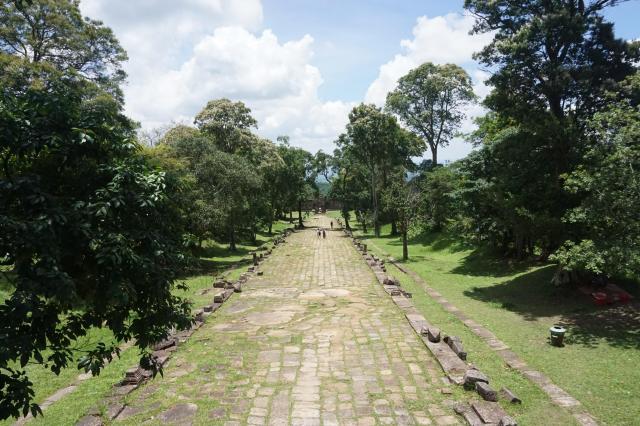 プレアビヒアの山道