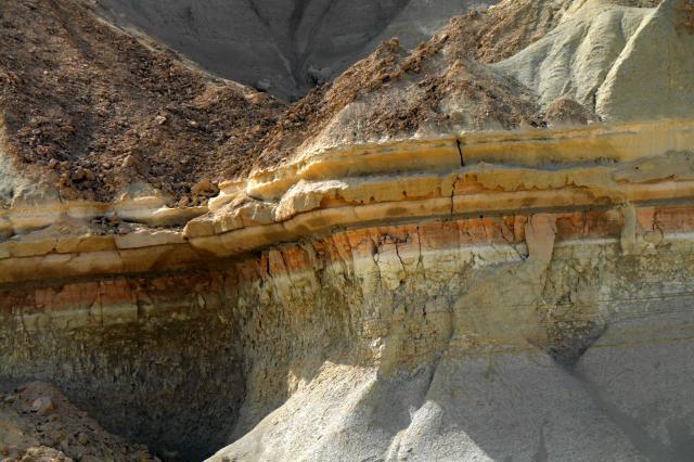 タンディス山峡の一部