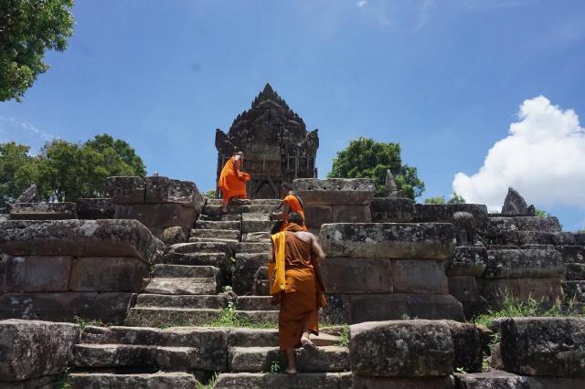 カンボジア北部タイ国境にある、ヒンドゥー教寺院プレアビヒア