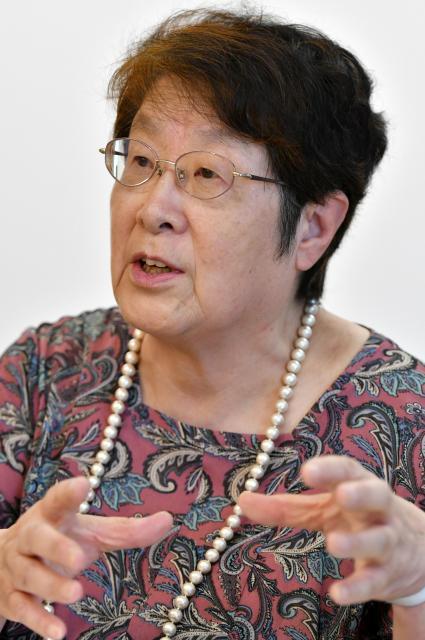 「東京シューレ」理事長の奥地圭子さん