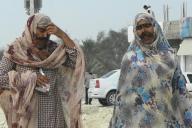 ゲシュム島に住む人たちの間では、既婚女性が仮面をする習慣がある
