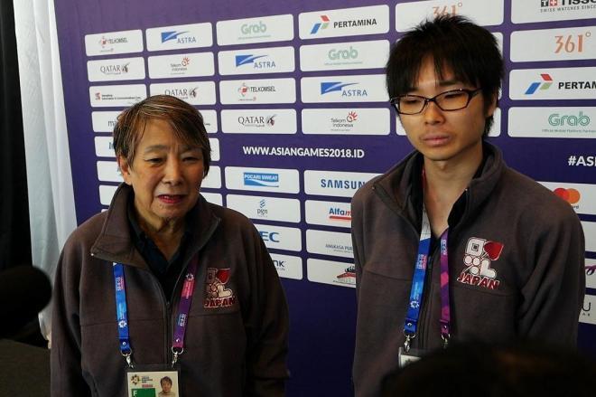 中尾共栄さんと瀬下拓未さんのペアは年齢を足すとちょうど100歳=8月21日、ジャカルタ