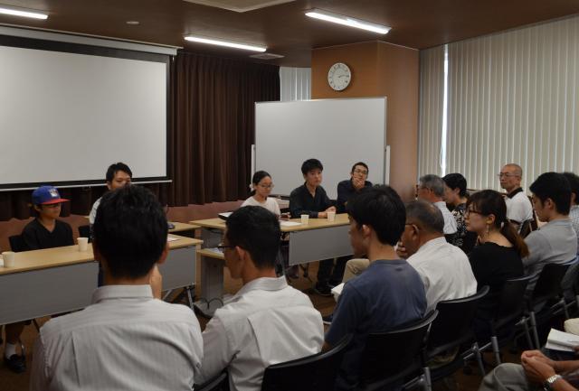 町田会場ではパネルディスカッションが行われた