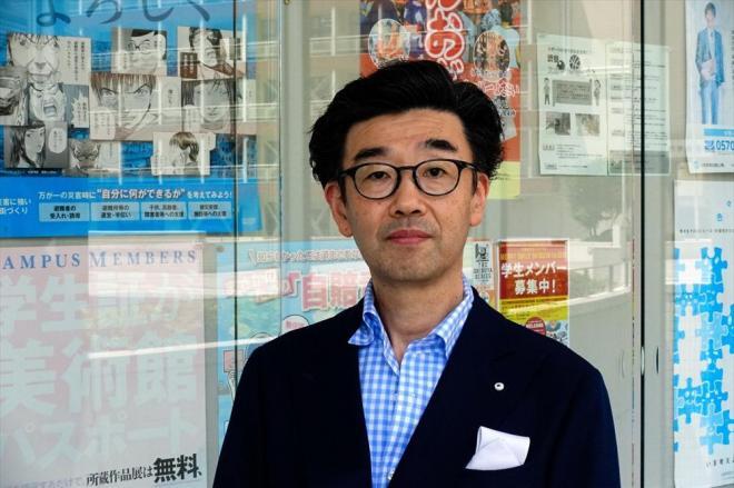 「カジュアルフライデーなんか怖くない」の筆者、池田衛さん=東京都渋谷区