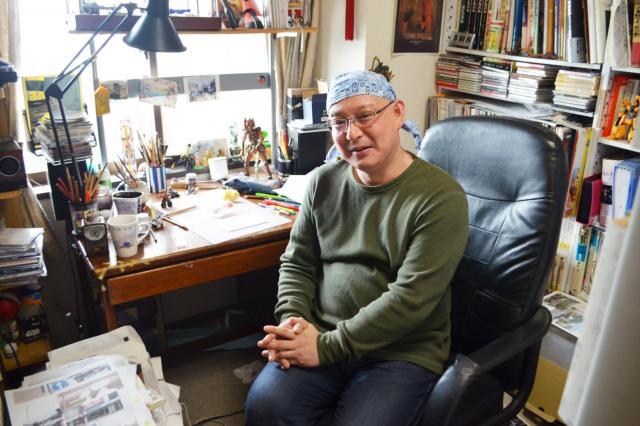 「掃除当番」について語る作者の武富健治さん