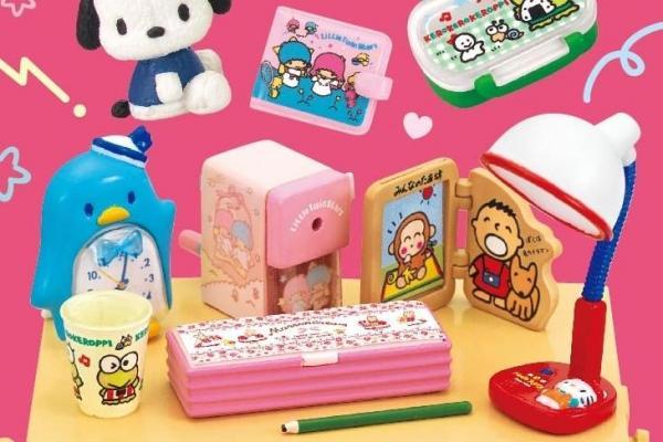 今年4月に発売された食玩「恋するサンリオメモリーズ」のパッケージ