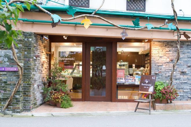 金沢市にあるぶどうの木本店