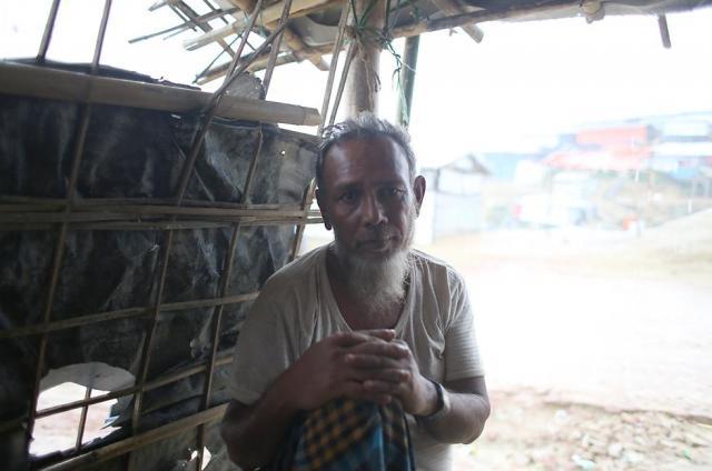 モハマド・シャフィさん(60)