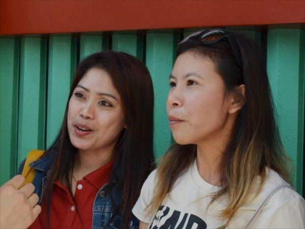 インドネシアからの観光客にも聞きました
