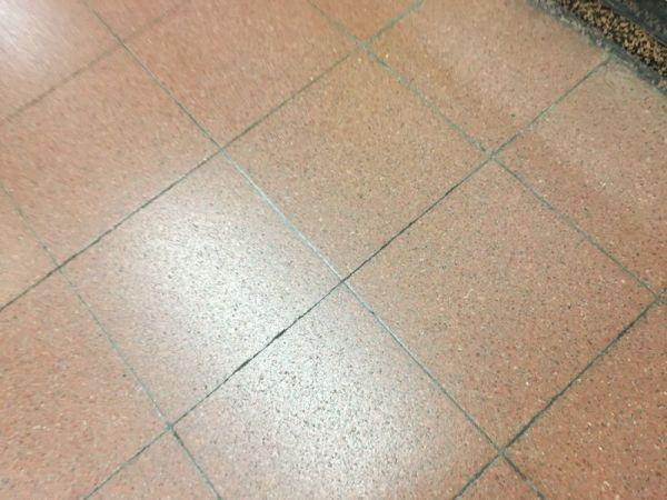 「キレイだったから」と撮ったのは、「地下鉄の床」 ※写真はイメージです。撮影された写真を再現しています