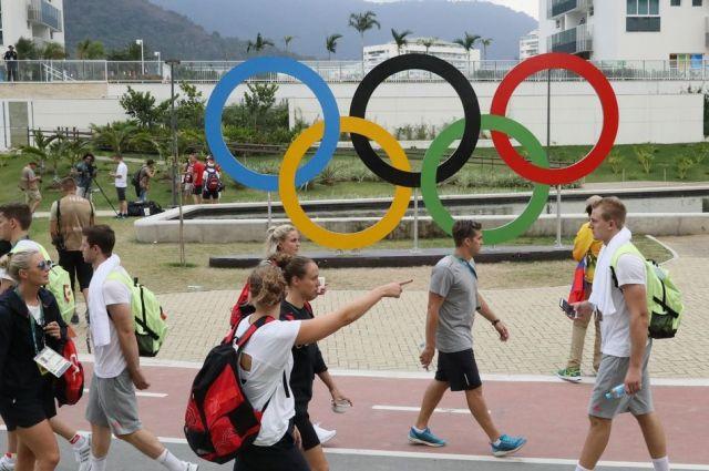 リオ五輪の選手村。45万個のコンドームが配布されたという=西畑志朗撮影