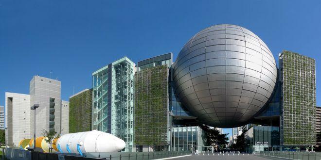 こちらが名古屋市科学館