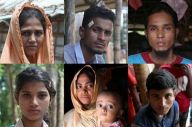 ロヒンギャ難民キャンプで話を聞いた人々