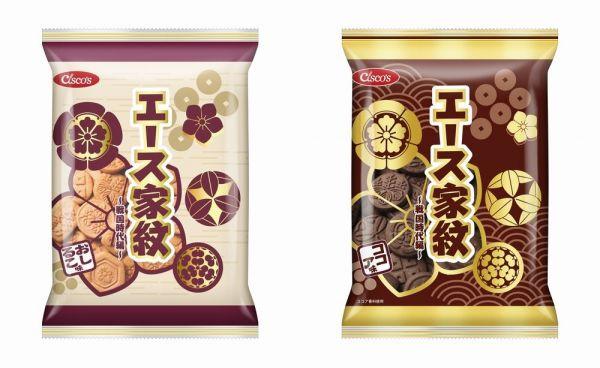 日清シスコが販売していた「エース家紋」