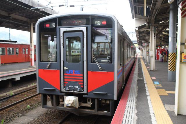 米子発益田行きの列車