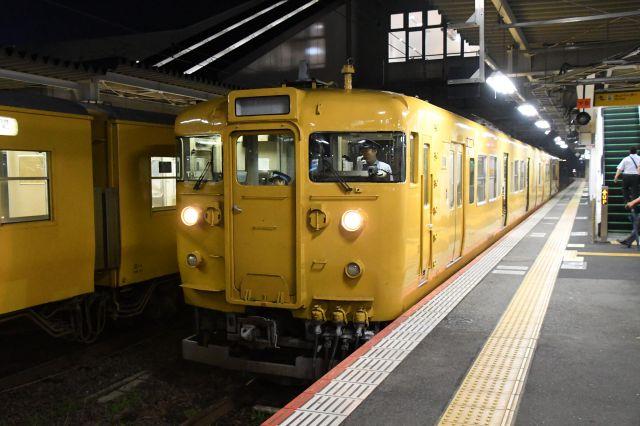 新山口発岩国行きの列車