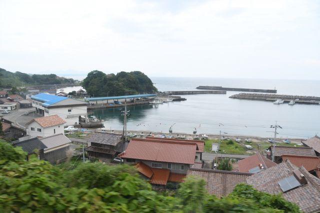 日本海沿いの漁村