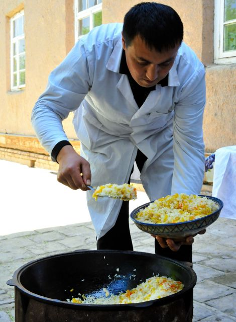 ウズベキスタン料理 プロフ