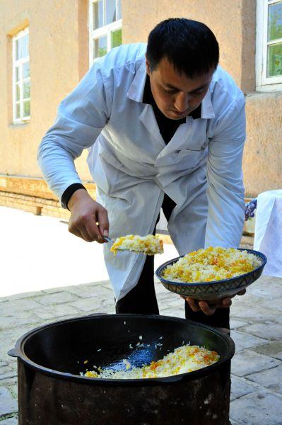 カザフスタン料理 プロフ