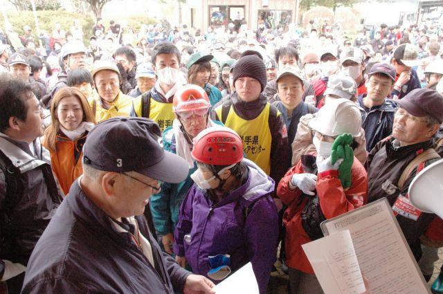 遠野まごころネットは全国有数のボランティア団体に=2011年5月3日、岩手県遠野市