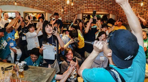 ファン宴で盛り上がるヤッホーブルーイングファンの様子
