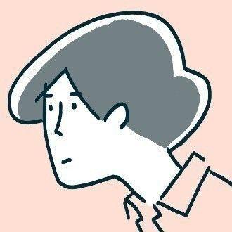 ワダシノブさんの自画像
