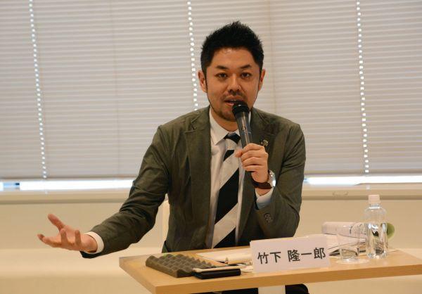 ファシリテーターを務めたニュースサイト「ハフポスト」日本版編集長の竹下隆一郎さん