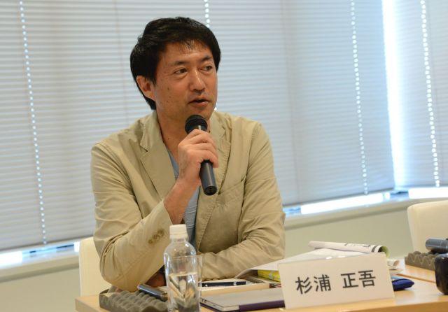 杉浦正吾さんは「これからの時代は皆さんのアイデアが社会を変える」と投げかける