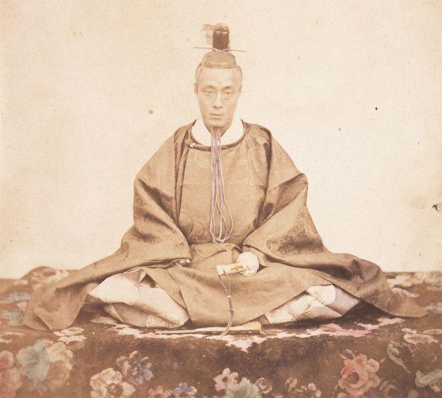 徳川慶喜のあだ名は「剛」「天下剛情公」など=福井市立郷土歴史博物館所蔵