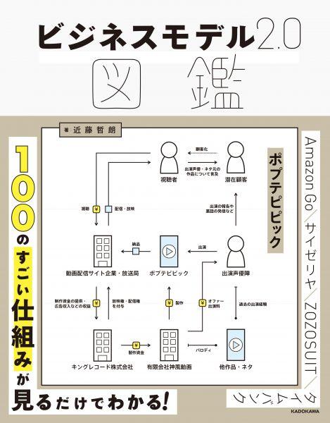 ビジネスモデル2.0図鑑(近藤哲朗 著、KADOKAWA)
