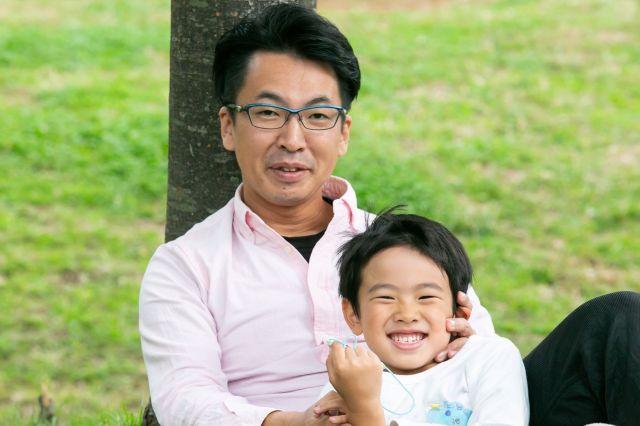 池田さんは2児の父でもあります