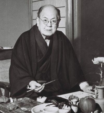 武者小路実篤=1962年