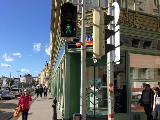 ウィーンの信号機