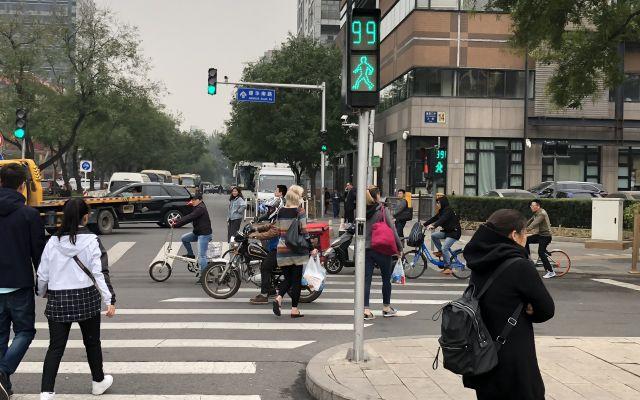 北京の信号機