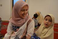 座談会に協力してくれたムスリムママ。日本の子育てで驚いたことは?