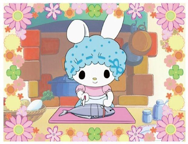 テレビアニメ「おねがいマイメロディ」に登場したマイメロママ (C)1976, 2005, 2018 SANRIO CO., LTD.(L)