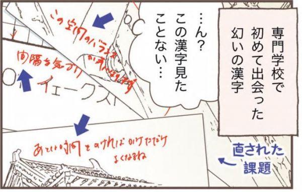 「幻いの漢字」(オーサ・イェークストロムオフィシャルブログ「北欧女子が見つけた日本の不思議」より)