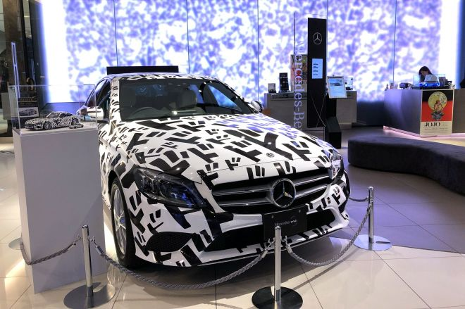 特別コラボカーMercedes-Benz C-Class JOJO concept「ドドドカー」