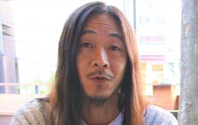 映画に込めた思いを語る笠谷圭見監督=神戸郁人撮影